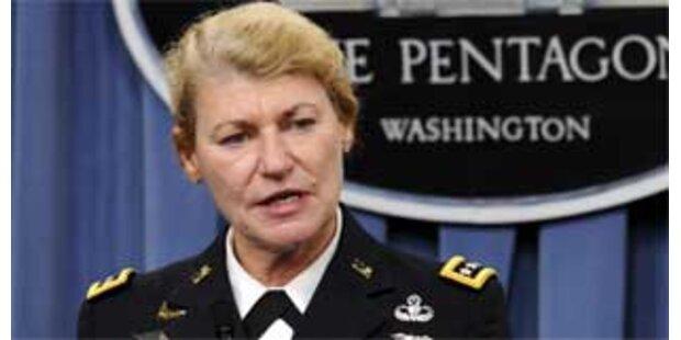 Erstmals eine Frau Vier-Sterne-General
