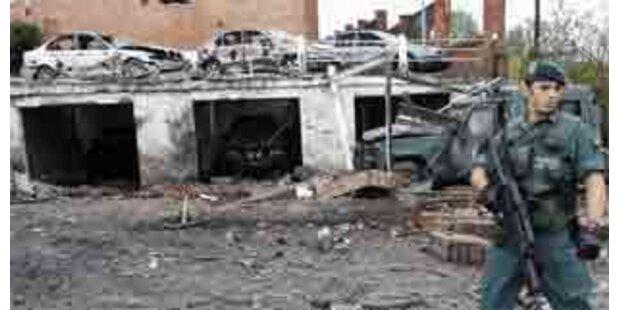 ETA-Anschlag auf Kaserne im Baskenland