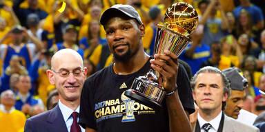 NBA-Megastar Kevin Durant infiziert