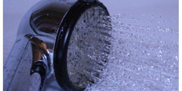 Duschverbot in Amstetten für 100 Haushalte