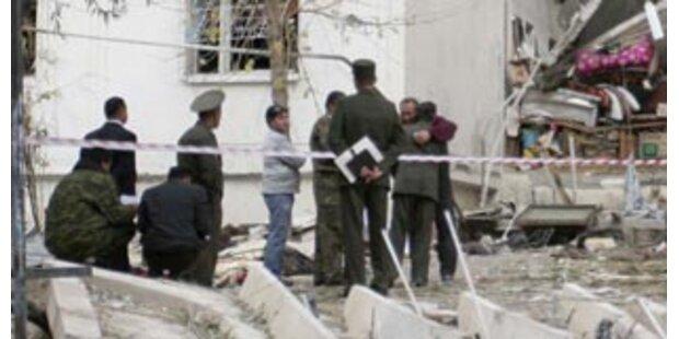 Ein Toter bei Explosion am Präsidentenpalast