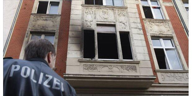 Sechsjähriger schuld an Flammeninferno