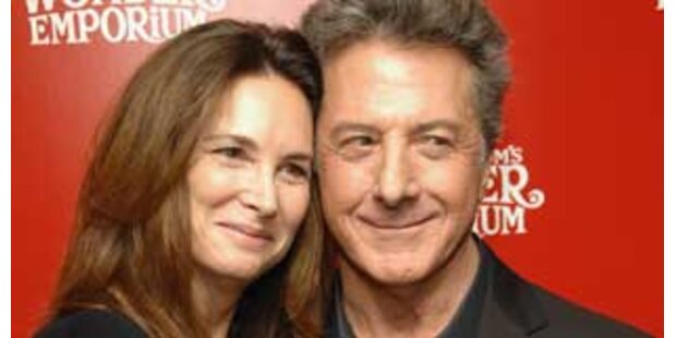 Dustin Hoffman wegen der Mädchen Schauspieler
