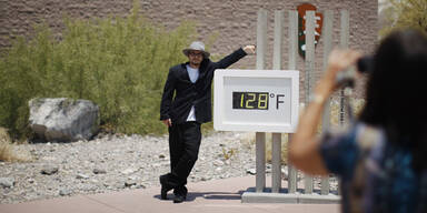 Hitzerekord: Bis 53 Grad im Death Valley