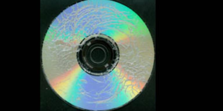 DVDs mit Selbstzerstörungs-Mechanismus