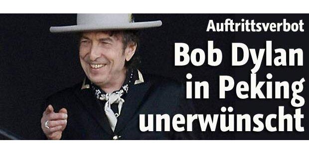 Bob Dylan darf in Peking nicht auftreten