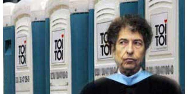 Stunk um Bob Dylans Mobilklo