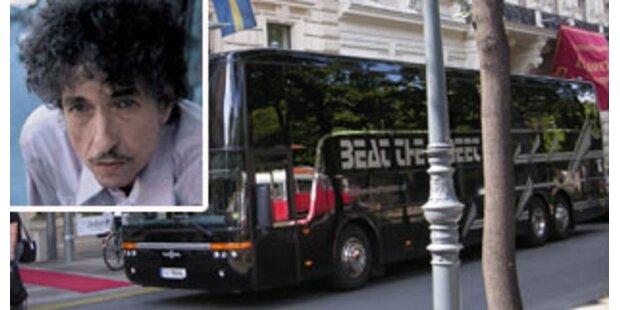 Bob Dylan schlief in Wien am Parkplatz