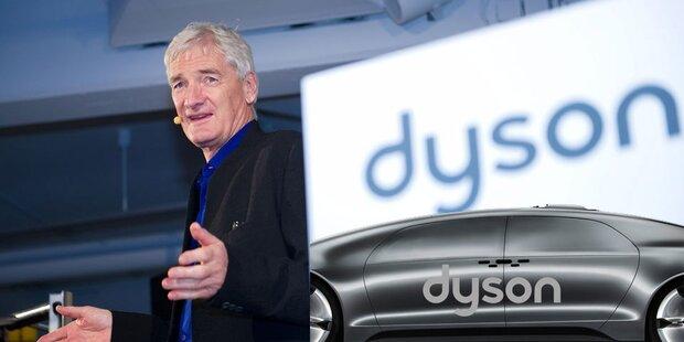 Dyson plant gleich drei Elektroautos