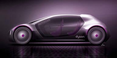Dyson bei seinem E-Auto voll im Plan