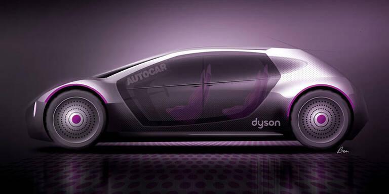 Dyson stampft sein Elektroauto ein