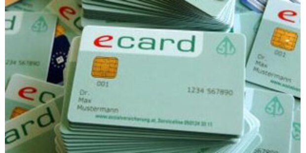 Ärzte sind gegen neue E-Card-Pläne