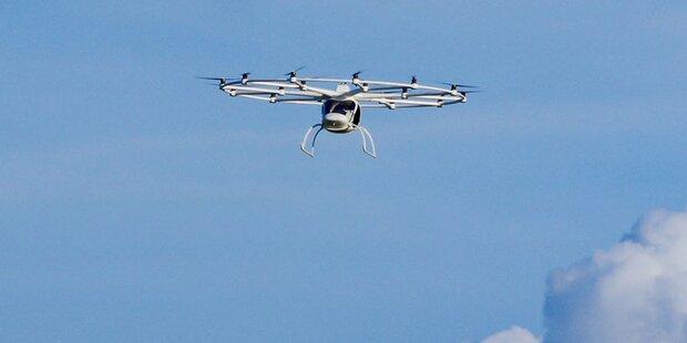 In Dubai fliegen schon bald Taxi-Drohnen