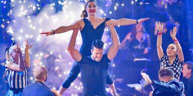 Lizz Görgl holte sich im großen Finale Tanz-Krone