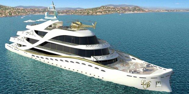 Yachten luxus  Diese Luxus-Yacht ist der Traum aller Frauen