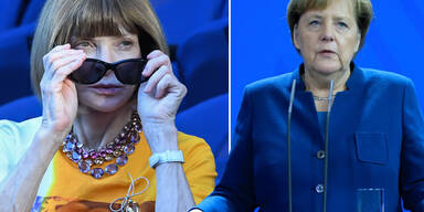 Das sagt Anna Wintour über den Merkel-Look