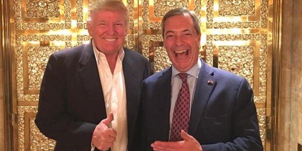Trump möchte Brexit-Boss als Botschafter in USA