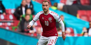 Dänischer Mannschaftskapitän Christian Eriksen