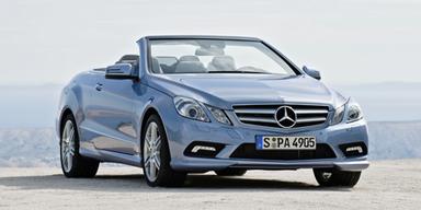Das Mercedes E-Klasse Cabrio im Test