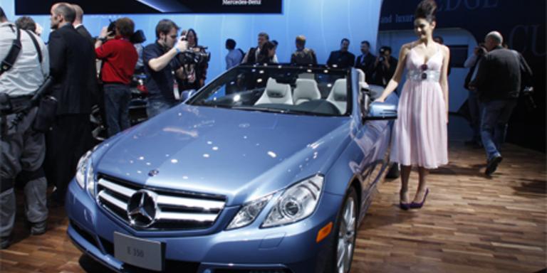 Die besten Bilder und alle Neuheiten der Detroit Motorshow