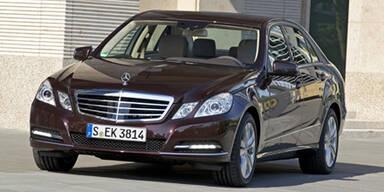 Mercedes E-Klasse mit neuen Motoren