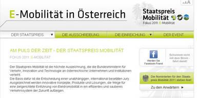 Staatspreis Mobilität 2011 wird verliehen