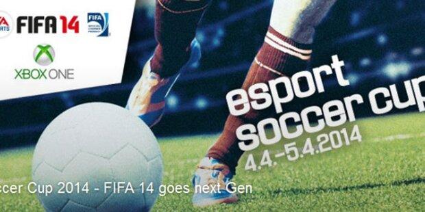 Alle Infos zum eSport Soccer Cup 14 in Wien