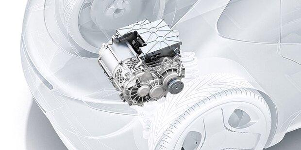 Bosch zeigt neuen Super-Elektroantrieb