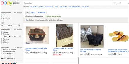 Luxuswaren bei eBay & Amazon vor dem Aus