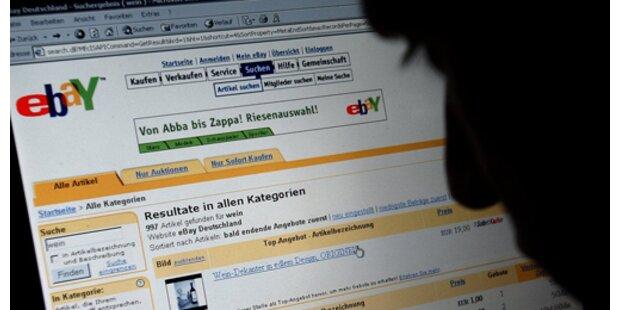 eBay-Betrüger ersteigerte Platten für 2 Mio. Euro