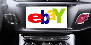 eBay hat Shoppen im Auto im Visier