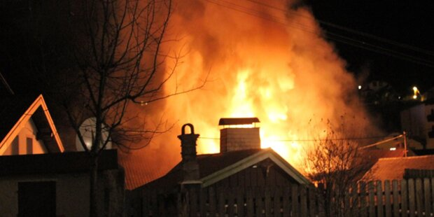 Haus in Ebensee (OÖ) explodiert