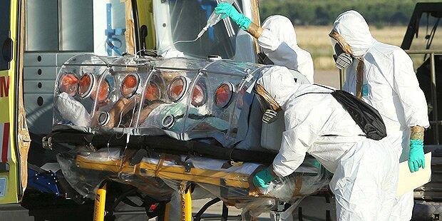 Ebola: WHO setzt auf nicht zugelassene Mittel