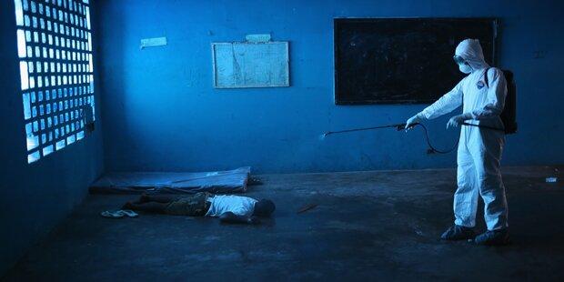 Ebola-Horror: Ärzte fliehen aus Spitälern