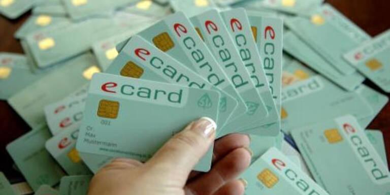 Fingerprints auf E-Card  kosten 100 Mio. Euro