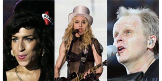 Winehouse, Madonna und Grönemeyer für Echo nominiert