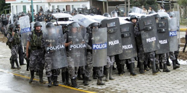 Meuterei in Ecuador: Acht Tote