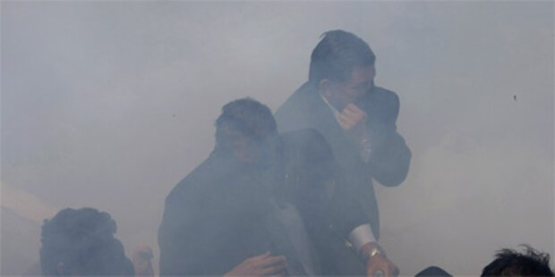Ecuadors Präsident 12 Stunden lang entführt