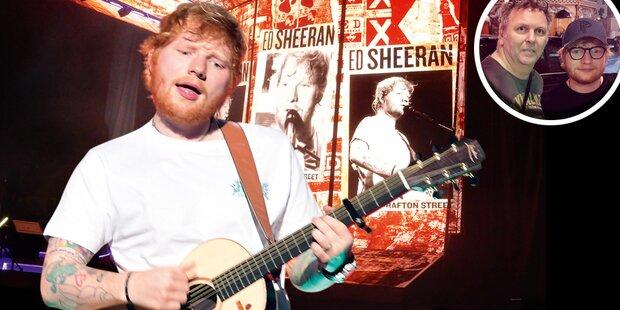 Sheeran-Show: Selfie mit ÖSTERREICH
