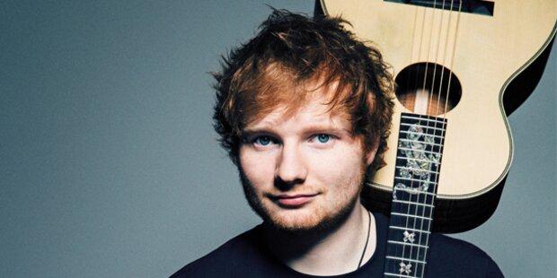 Ed Sheeran bei