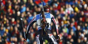 Jubel in Hochfilzen: Biathleten holen Bronze