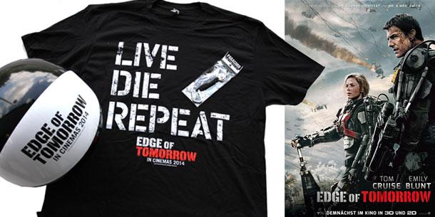 The Edge of Tomorrow mit Tom Cruise und Emily Blunt