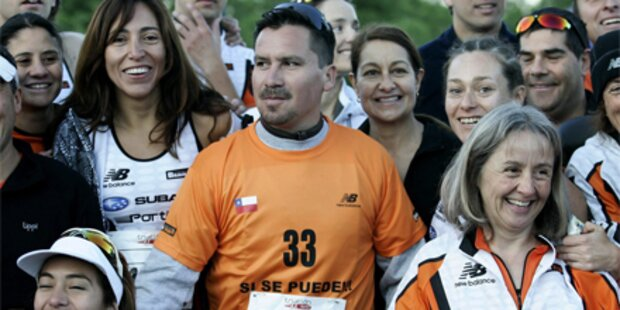 Chile-Kumpel nimmt an Triathlon teil