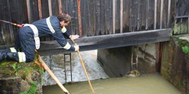 Suche nach Hochwasser- Opfer eingestellt