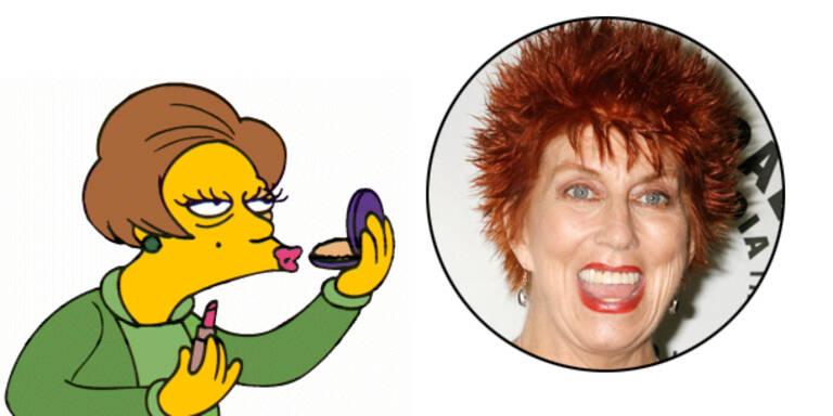 Sprecherin gestorben: Edna nicht mehr in Simpson-Serie