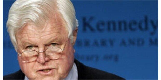 US-Senator Kennedy am Gehirn operiert