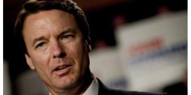 US-Politiker Edwards gibt Affäre zu