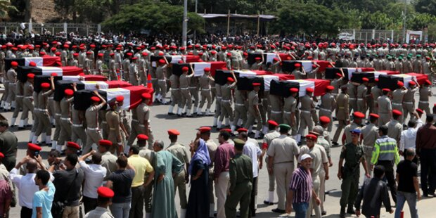 Ägyptische Armee tötet 20 bewaffnete Angreifer