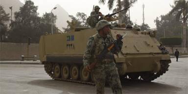 Ägypten Soldaten