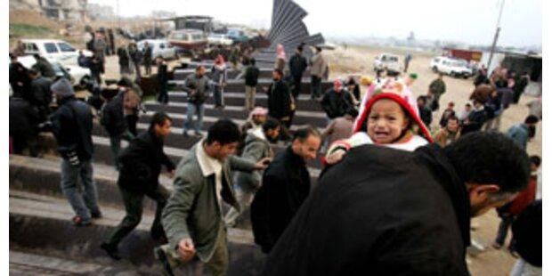 350.000 Palästinenser brachen nach Ägypten durch